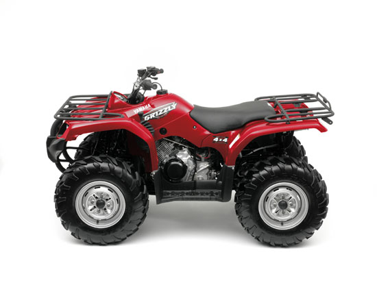2009 Yamaha Grizzly 350 4x4 IRS