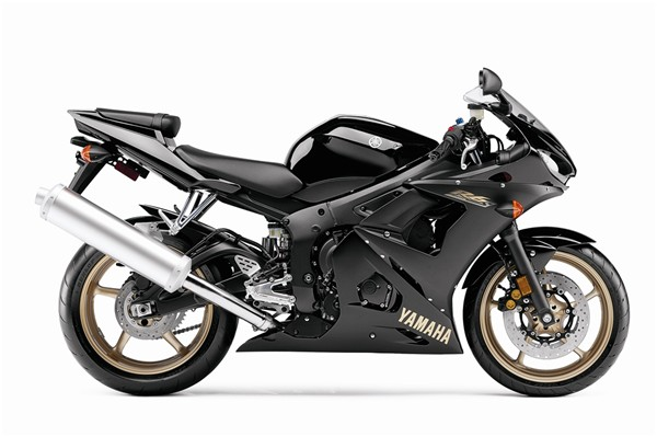 2009 Yamaha YZF-R6S Black Gold