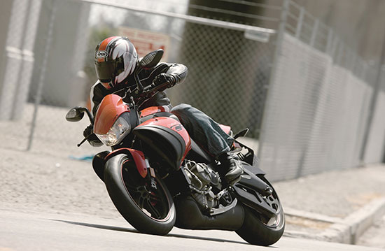 2010 Buell 1125CR Test Ride