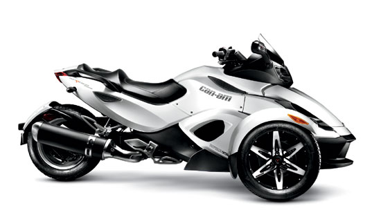 2010 Can-Am Spyder RS-S Roadster