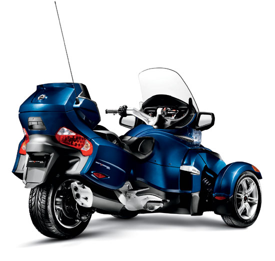 2010 Can-Am Spyder RT Audio and Convenience Roadster