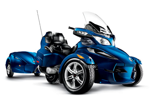2010 Can-Am Spyder RT-622 Trailer