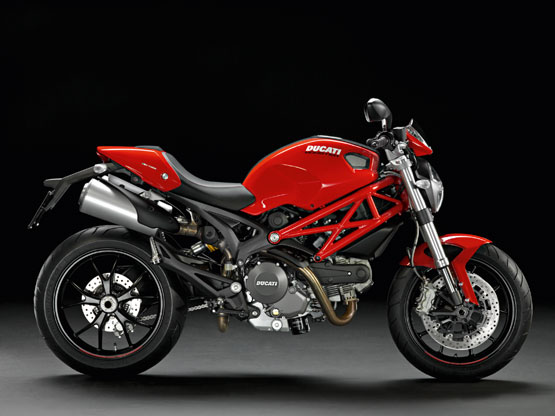 2010 Ducati Monster 696 and 796, 13 different colors
