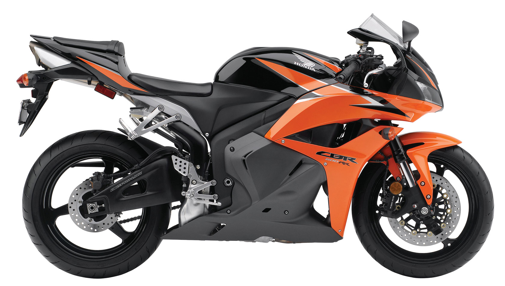 2010 Honda CBR600RR Black Orange