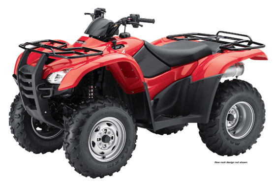 2010 Honda FourTrax Rancher 4X4 ES with Power Steering TRX420FPE
