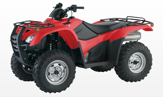 2010 Honda FourTrax TRX420PG Canadian Trail Edition