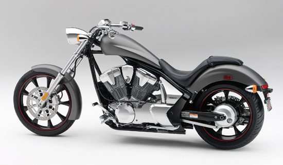 Honda Motorcycle Chopper Fury 2010