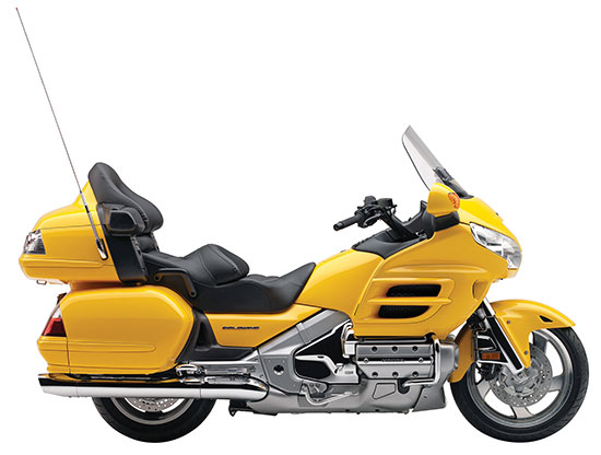 Honda Gold Wing Yellow
