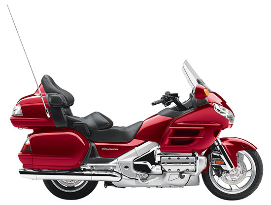 Honda Gold Wing Red