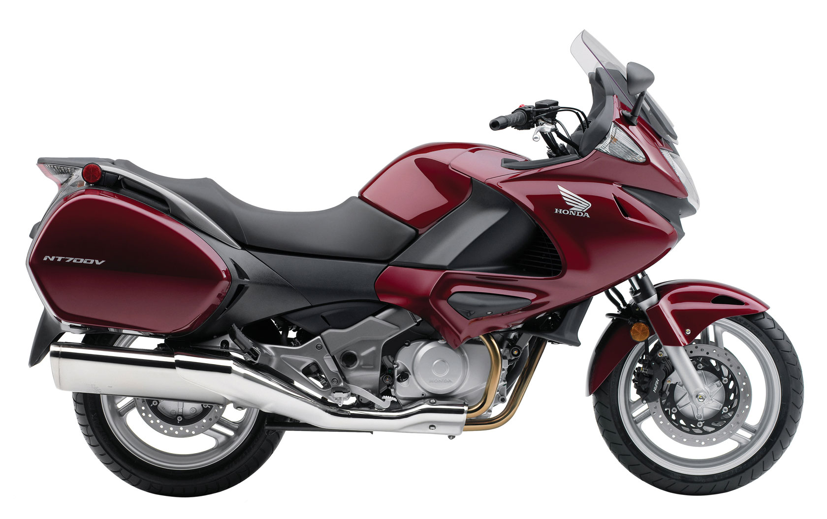 2010 Honda NT700V Varadero Side View