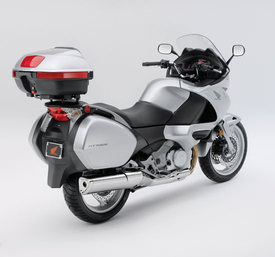 2010 Honda NT700V Varadero Rear View
