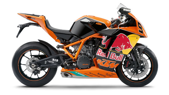 2010 KTM 1190 RC8R Red Bull Limited Edition