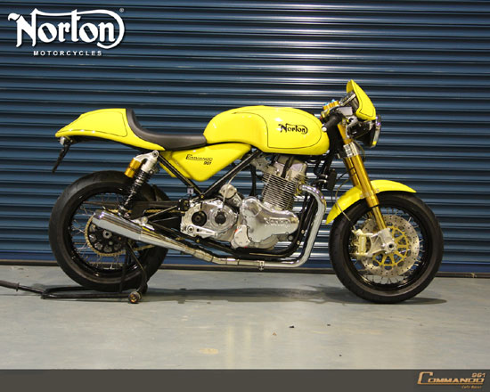 2010 Norton Commando 961 Cafe Racer