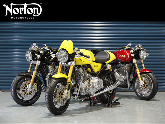 2010 Norton Commando 961 Models