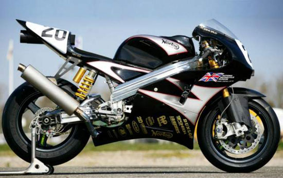 2010 Norton NRV588 Race