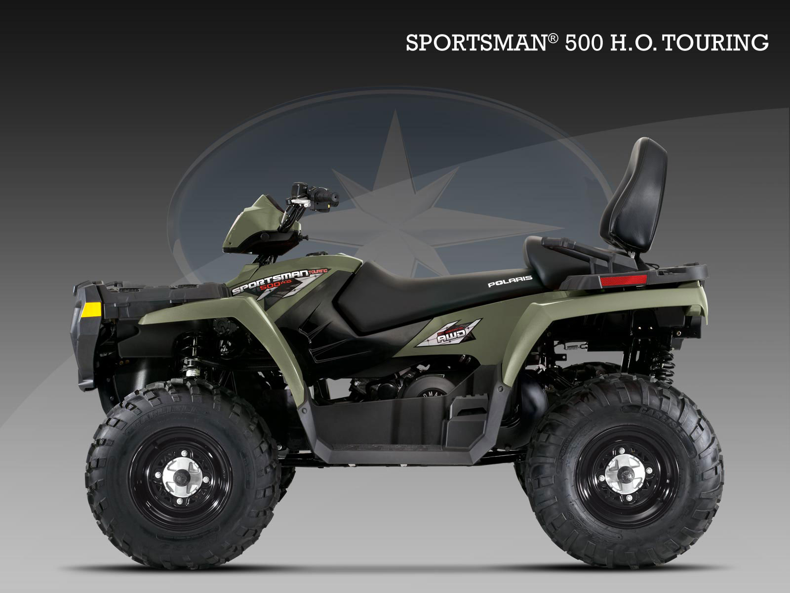2010 Polaris 500 HO Touring