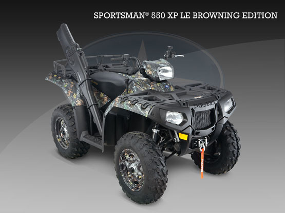 2010 Polaris 550 EPS Browning LE