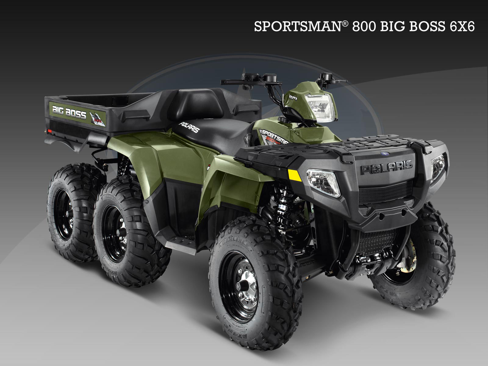 2010 Polaris 800 BIG BOSS 6X6