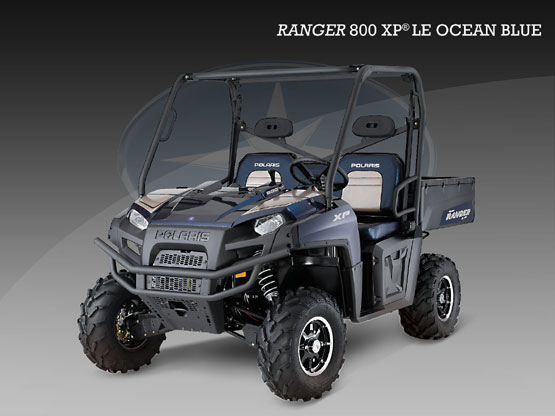 2010 Polaris 800 XP Ocean Blue LE