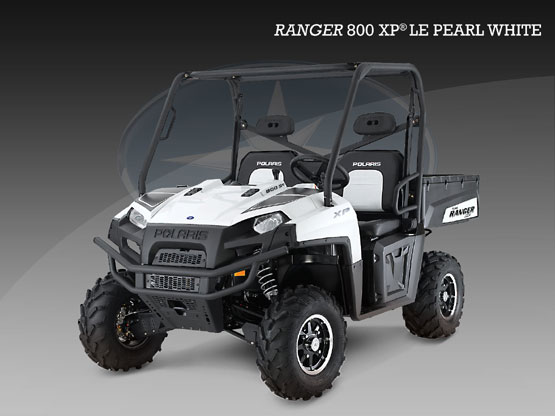 2010 Polaris 800 XP Pearl White LE