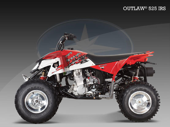 2010 Polaris Outlaw 525 IRS