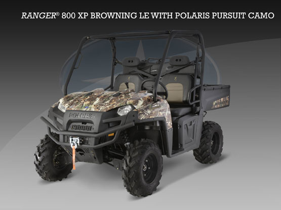 2010 Polaris Ranger 800 XP Browning Le Pursuit Camo LE