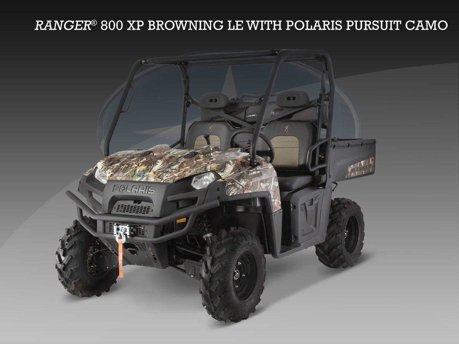 2014 Polaris Ranger Browning Edition For Sale
