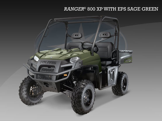 2010 Polaris Ranger 800 XP EPS Sage Green LE