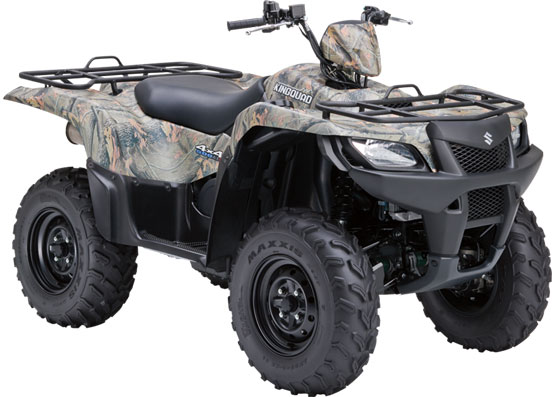 2010 Suzuki KingQuad 500AXi Power Steering Camo