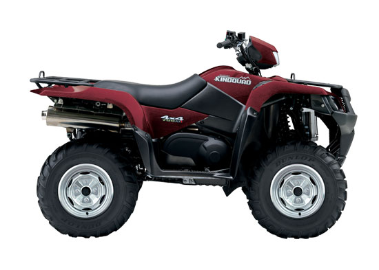 2010 Suzuki KingQuad 750AXi Power Steering Red Brush