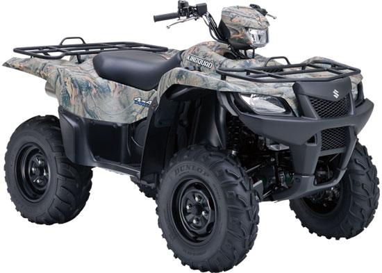 2010 Suzuki KingQuad 750AXi Power Steering Camo