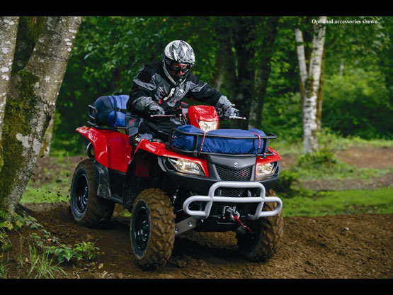 2010 Suzuki KingQuad 750AXi Power Steering