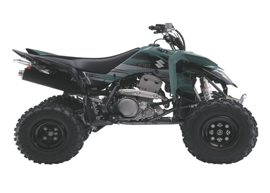 2010 Suzuki QuadSport Z400 Limited