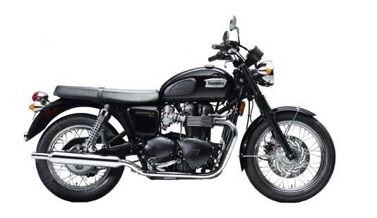 2010 Triumph Bonneville T100 Black