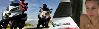 2010 Vespa and Piaggio models arrive