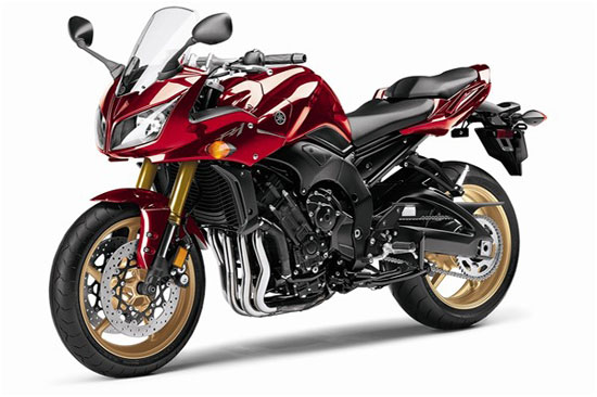 2010 Yamaha FZ1 red