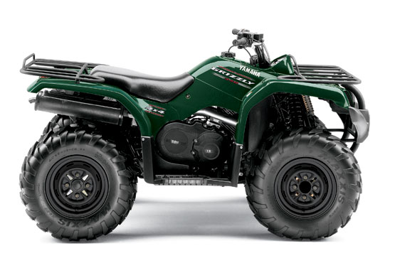 2010 Yamaha Grizzly 350 4x4 IRS