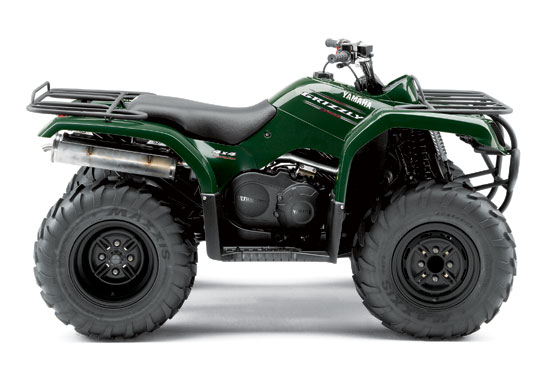 2010 Yamaha Grizzly 350 4x4