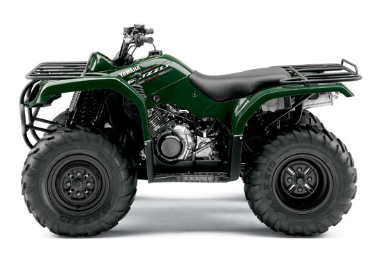 2010 Yamaha Grizzly 350 Automatic 2WD