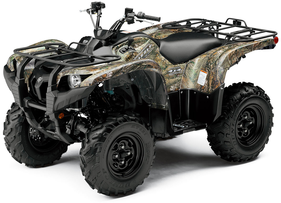 2010 Yamaha Grizzly 550 FI EPS Camo AP HD
