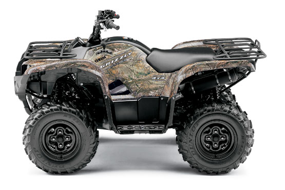 2010 Yamaha Grizzly 550 FI