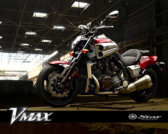 2010 Yamaha V-Max Wallpaper