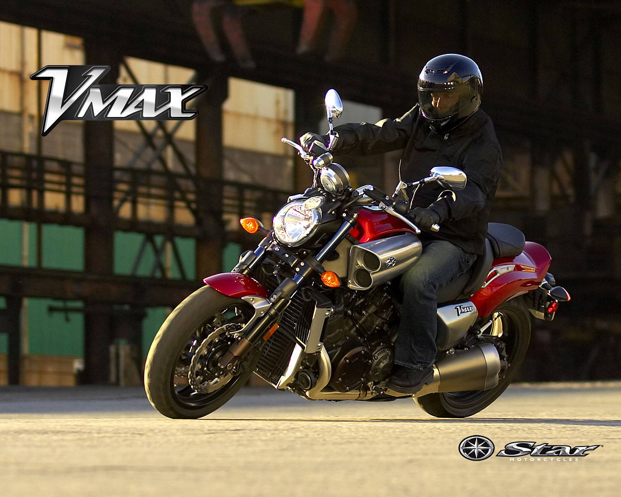 2010 Yamaha V-Max Best Action