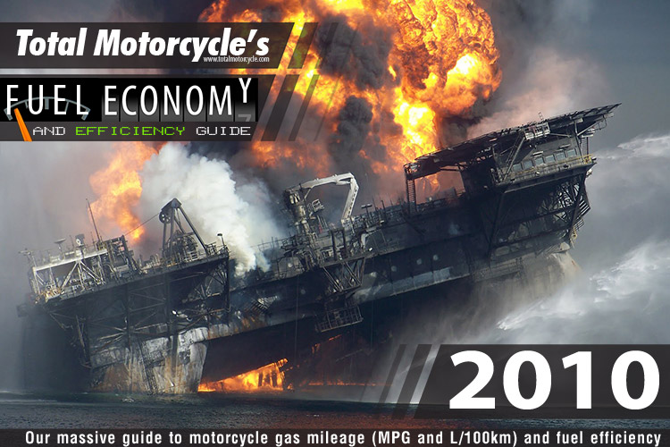 2010 Motorcycle MPG Fuel Economy Guide