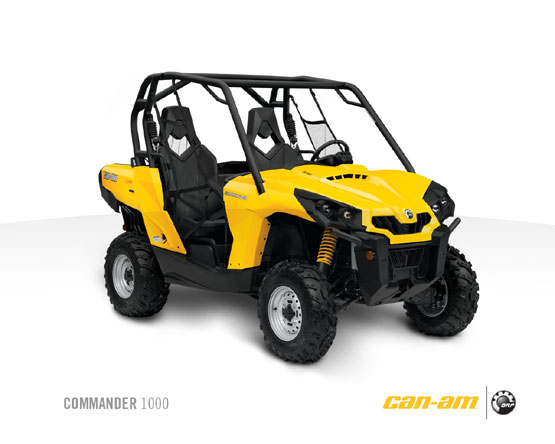 2011 Can-Am Commander 1000