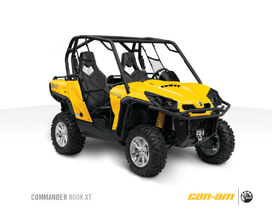 2011 Can-Am Commander 800R XT