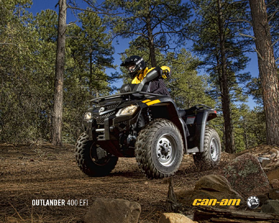 2011 Can-Am Outlander 400
