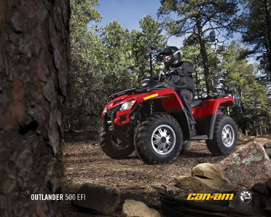 2011 Can-Am Outlander 500