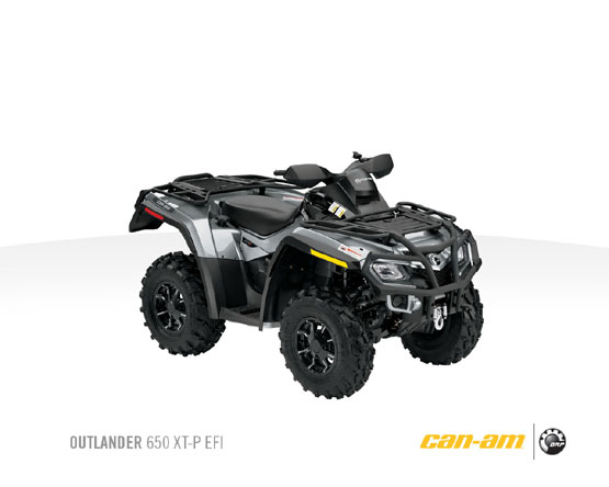 2011 Can-Am Outlander 650 XP-P