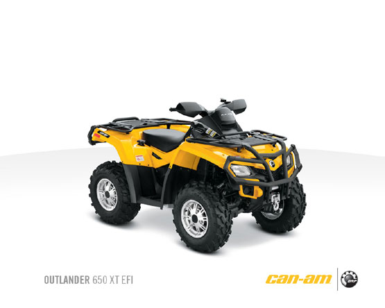 2011 Can-Am Outlander 650 XT